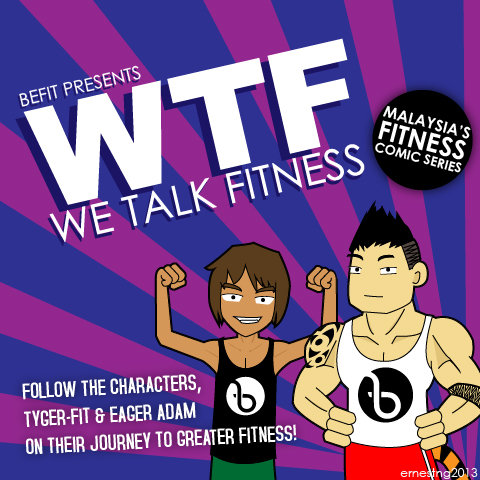 We talk fitness Comics - WTF