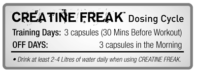 Pharmafreak Creatine Freak Media Insert 2