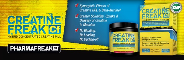 Pharmafreak Creatine Freak Media Insert