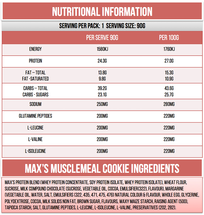 MAXS-MUSCLEMEAL-COOKIES-NUTRITIONALS